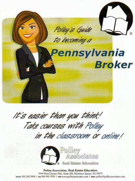 Polley Guide Prepares You To Earn A Broker License